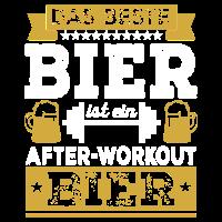 Bier Fitness Männer Fit Workout Geschenk Body