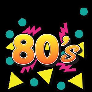 I love the 80s - 80er Jahre Party - 80er Fan