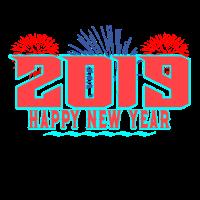 Neujahr 2019 Silvester