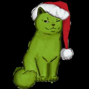 Grinch Katze