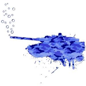 soap bubbles splash tank aqua camo