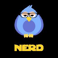 cooles Bird Nerd Vogel Nerd Geschenk