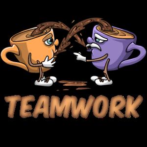 Teamwork Kaffee