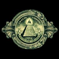 Allsehendes Auge, Pyramide, Dollar, Gott, Horus