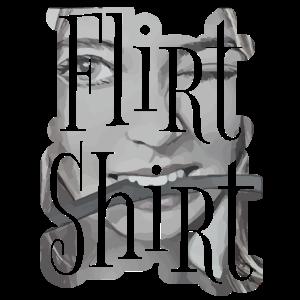 Flirt Shirt Sexy Mädchen mit Peitsche für Singles