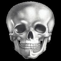 Schädel - Totenkopf - Skull schwarz weiß