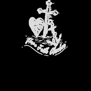 Bibel-Vers-Hoffnungs-Glaubens-Anker-christliches Hemd