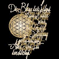 Poesie Kalligrafie Blume Des Lebens 3