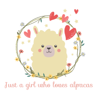 Just a girl who loves alpacas