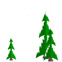 Schnee Tannen Winter