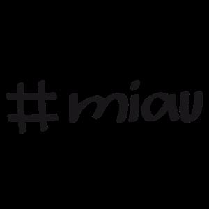 Katzen Liebe Hashtag Miau