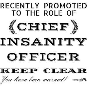 1,05 Chief Chief Insanity Officer