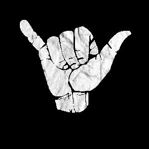 Shaka Handzeichen Hang
