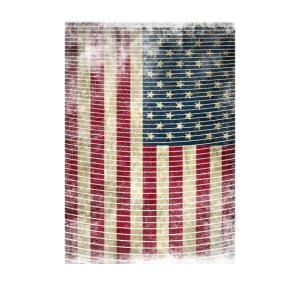 USA Flagge vintage grunge