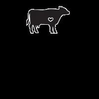 Ich liebe Kühe Netter Vieh-Rinderlandwirt-Viehzüchter