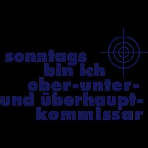 Tatort Sonntags Ober Unter Und Berhauptkommisar