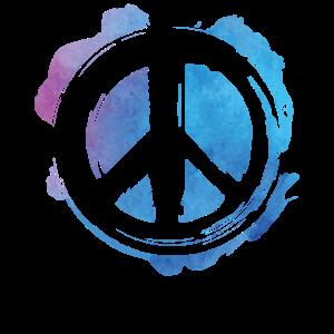 Peacezeichen Frieden Geschenk Weltfrieden Symbol