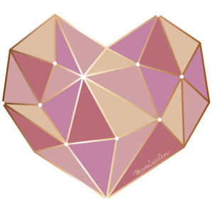 Diamant Herz 3D