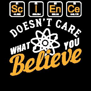 Wissenschaft Glaube Geschenk