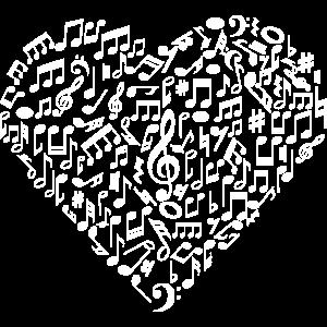 Ich Liebe Musik | Musikalische Symbole Musiker