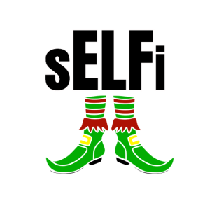 Selfi Weihnachtself Shirt