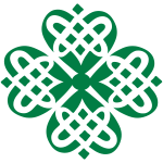 Shamrock Celtic knot decoration patjila