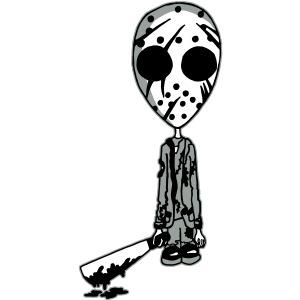 Jason 13th White Background