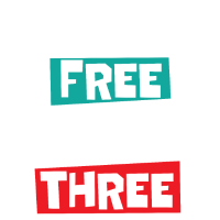 Happy free wild & three
