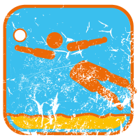 Sommersport: Beachvolleyball (used)