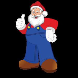 Weihnachtsmann Weihnachten Daumen Hoch
