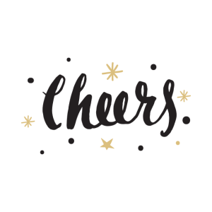 Cheers Party Silvester Weekend Wochenende Feiern