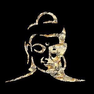 Gold Million Buddha by Joshyoto