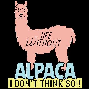 Ein Leben ohne Alpaka? Ich glaube nicht!