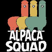 Alpaca squad Alpaka