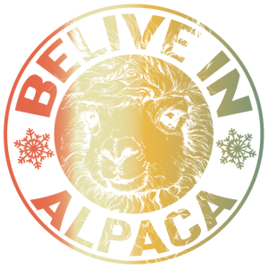 Glaube an Alpakas!
