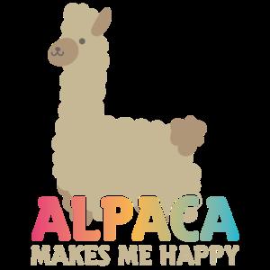 Alpakas machen glücklich!