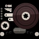 Tape parts: C120