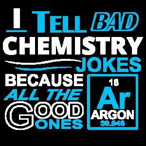 Schlechte Chemie Witze Naturwissenschaften T-Shirt