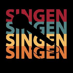 Singen Sängerin