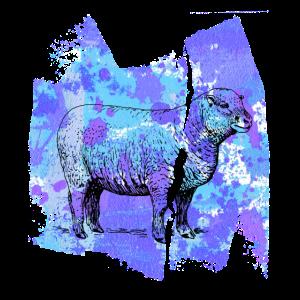 Schaf sheep black sheep T Shirt geschenk
