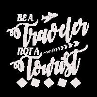 Reisender statt Tourist - Geschenk Idee