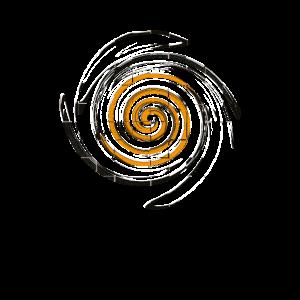 Quirlige Spirale