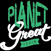 Planet groß wieder Grafik