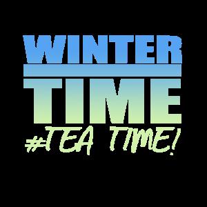 Wintertime Tea Time Kalt Weihnachten Geschenk