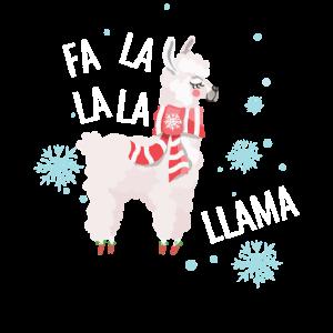 Alpaka Lama Weihnachten Lustig Cool Geschenk
