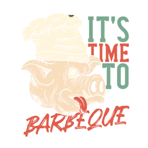 Barbeque Schwein Geschenk foodcontest
