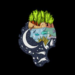 Kopf, Natur, Wassermann, Sternzeichen, Fisch