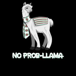 No Prob-Llama Alpaka Lama Drama Problem Geschenk
