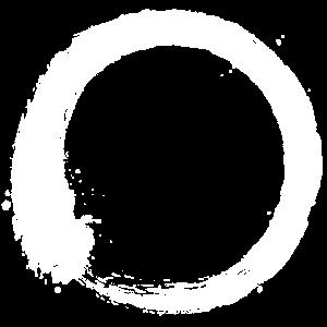 Enso Zen Kreis weiß