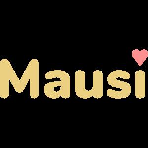 Mausi (Herz als i-Punkt)